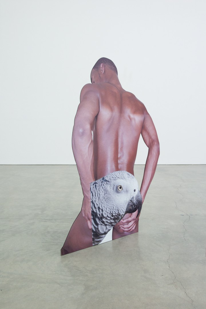 Innate Disposition, digital print plastic cutout displays, 2012