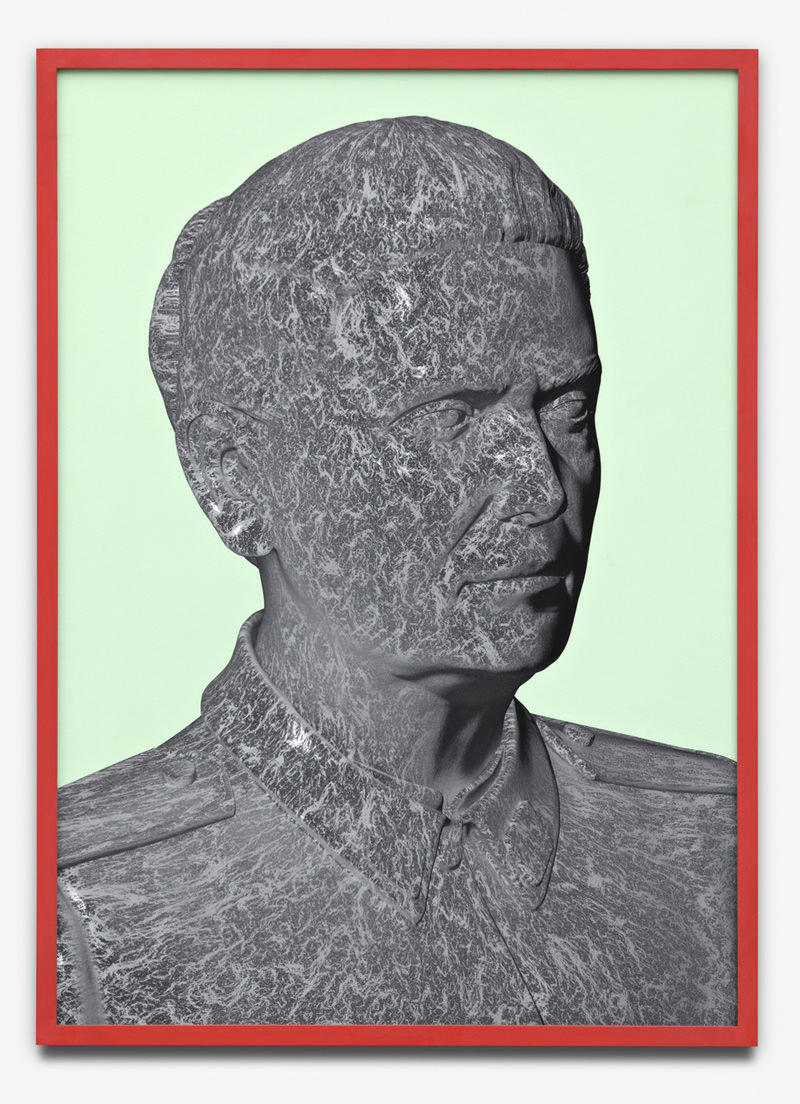 portrait, 2011, inkjet-print in frame, 50 x 70 cm, 2011